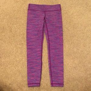 Lululemon Ivivva Purple Heathered Leggings